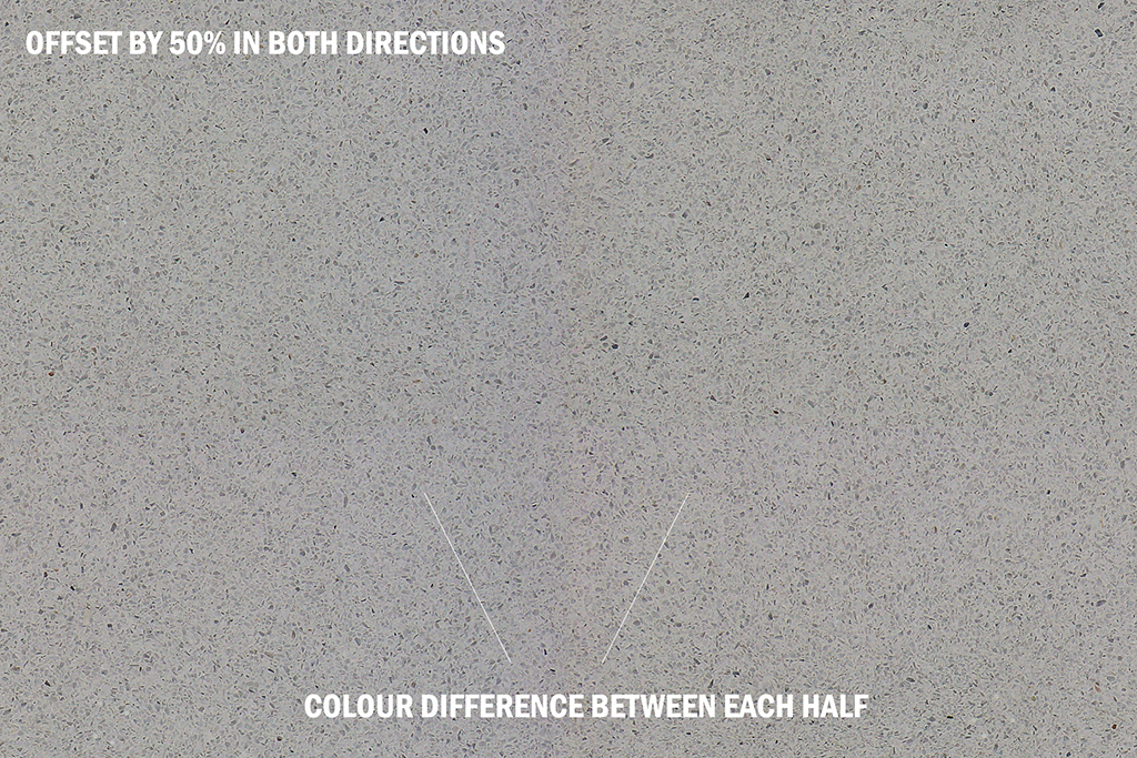 Tiling Textures Colour Difference