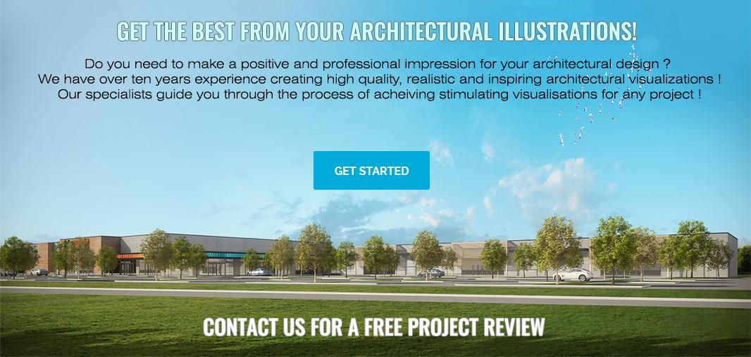architectural illustration topbar